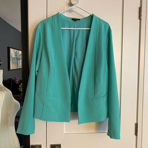 Torrid 2X Green Blazer Jacket